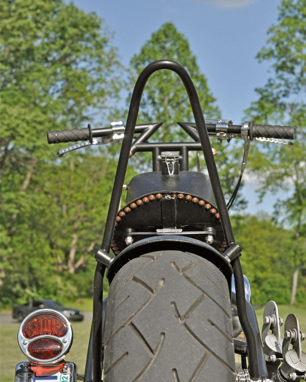 Damian's Harley Davidson 883XL Sportster Chopper Custom